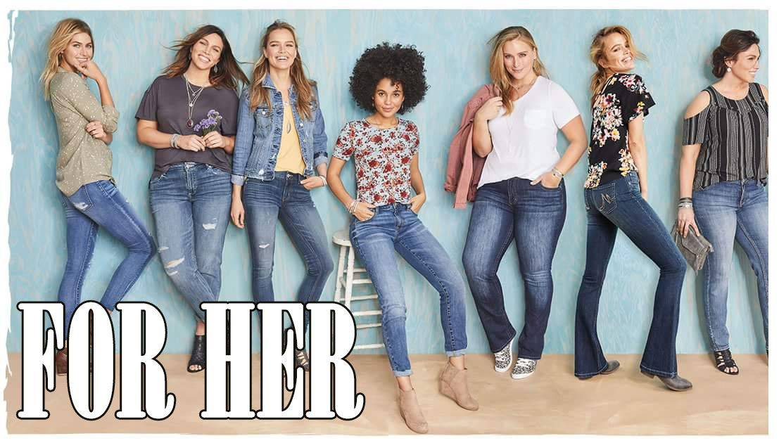 Custom Made Tailored Jeans for Women