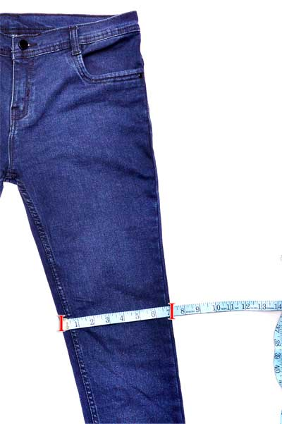 Garment Knee Measurement