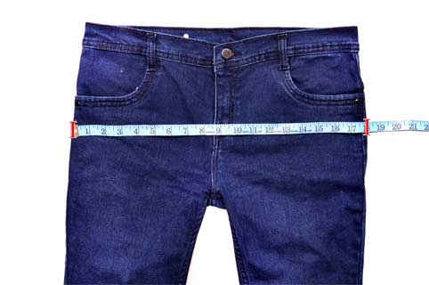 Garment Hip Measurement