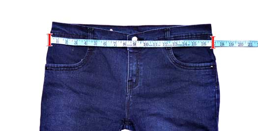 Garment Waist Measurement